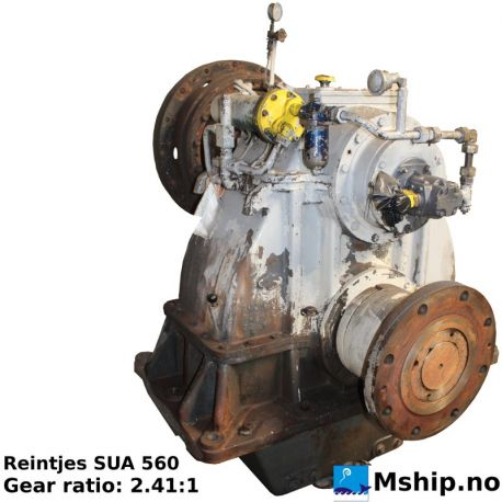 REINTJES SUA 560 Gear ratio 2.41:1 https://mship.no