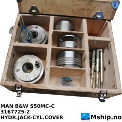 Man Diesel Hydraulic jack for cylinder cover nut and crosshead bolt S50MC-C