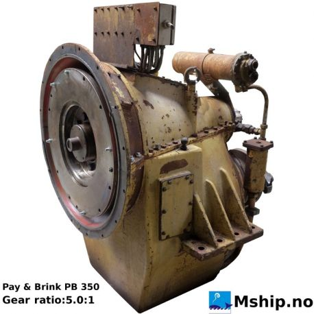 Pay & Brink PB 350 with gear ratio 5.0:1 https://mship.no