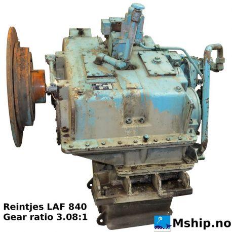 Reintjes LAF 840 with gear ratio 3,08:1 https://mship.no