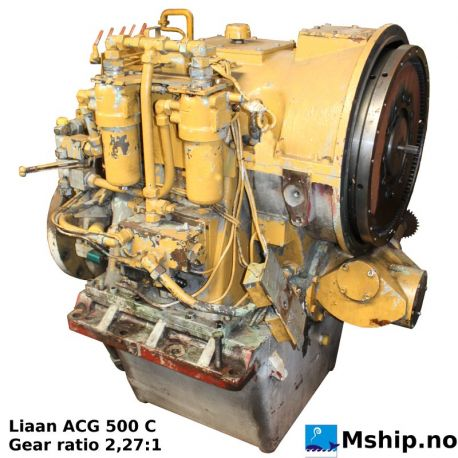 Liaaen ACG 500 C Gear ratio 2.27:1 https://mship.no