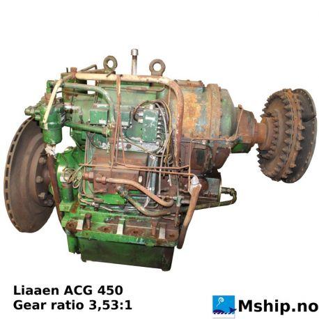 Liaaen ACG 450 gear ratio 3.53:1 https://mship.no