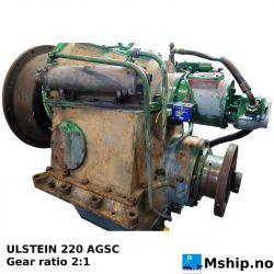ULSTEIN 220 AGSC  reduction gear with 2:1 gear ratio  https://mship.no