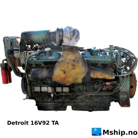 Detroit 16V92 TA https://mship.no