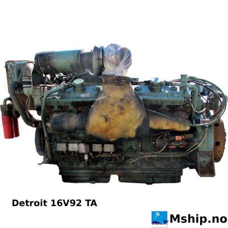 Detroit 16V92 TA https://mship.no