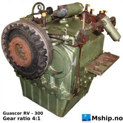 Guascor RV - 300  with 4:1 gear ratio.  https://mship.no
