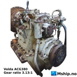 Volda ACG 380 with gear ratio 3.13:1 https://mship.no