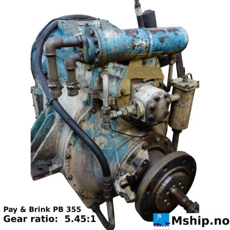 Pay & Brink PB 355 with 5.45:1 gear ratio  https://mship.no