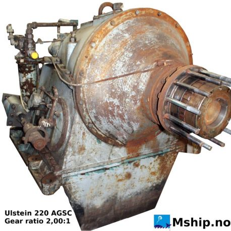 ULSTEIN 220 AGSC reduction gear with 2,00:1 gear ratio https://mship.no