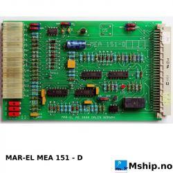MAR-EL MEA151-D   https://mship.no