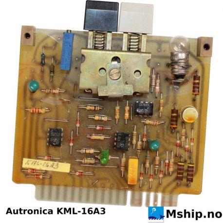 Autronica KML-16A3 Kongsberg KML-16A3 https://mship.no