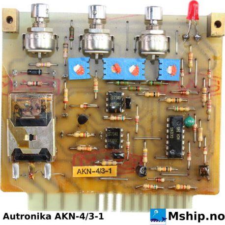 Autronika AKN-4/3-1 https://mship.no