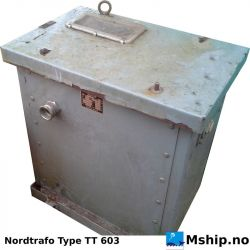 Nordtrafo TT 603 25 kVA isolation transformer https://mship.no