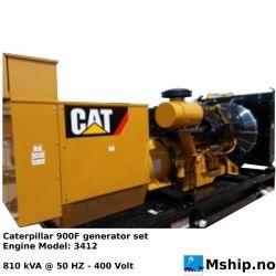 Caterpillar 900 F 810 kVA generatorset - https:77mship.no