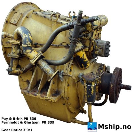 Pay & Brink PB 339gear with ratio 3.9:1 https://mship.no