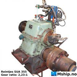 Reintjes SUA 355 gear ratio 2.23:1 https://mship.no