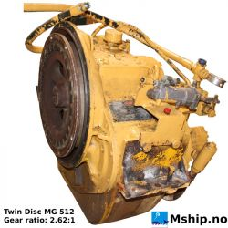 Twin Disc MG 512