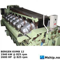 Bergen Diesel KVMB 12