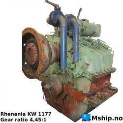Rhenania KW 1177 gearbox https://mship.no