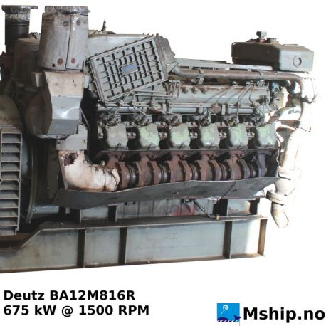 Deutz BA12M816R https://mship.no