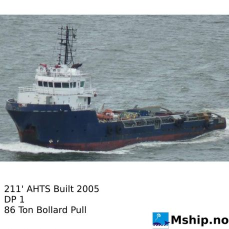 211' AHTS  Built 2005   https://mship.no