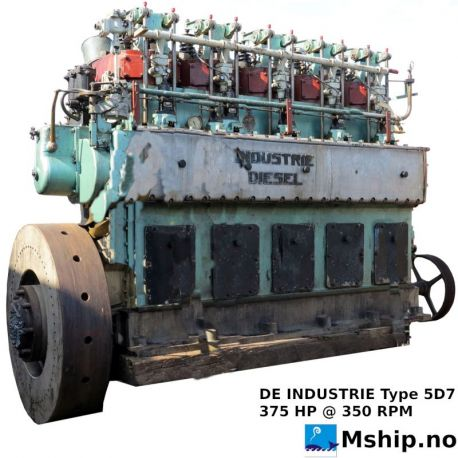 DE INDUSTRIE Type 5D7 https://mship.no