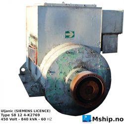 Uljanik (SIEMENS LICENCE) Type S8 12 4-K2769