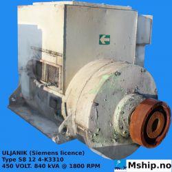 ULJANIK (Siemens licence) Type S8 12 4-K3310 https://mship.no