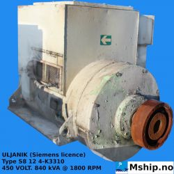 ULJANIK (Siemens licence) Type S8 12 4-K3310