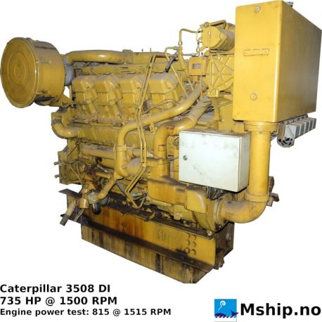 Caterpillar 3508 DI https://mship.no