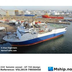 224' Seismic vessel - UT 743 design https://mship.no