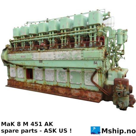 MaK 8 M 451 AK Spare Parts https://mship.no
