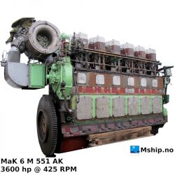 MaK 6 M 551 AK