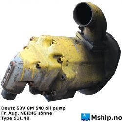 Deutz DBV 8M 540 oil pump https://mship.no