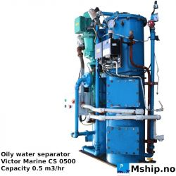 Victor Marine CS 0500 Oily water separator https://mship.no