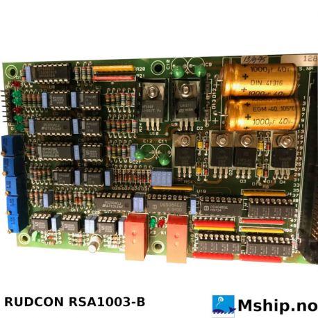 RUDCON RSA1003-B https://mship.no