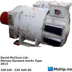 David McClure Ltd - Mersey Dynamo works