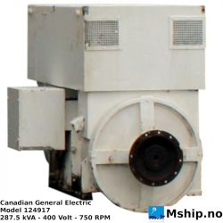 Canadian General Electric 277,5 kVA https://mship.no