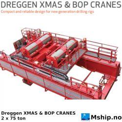 Dreggen XMAS & BOP CRANE 2 x 75 ton https://mship.no
