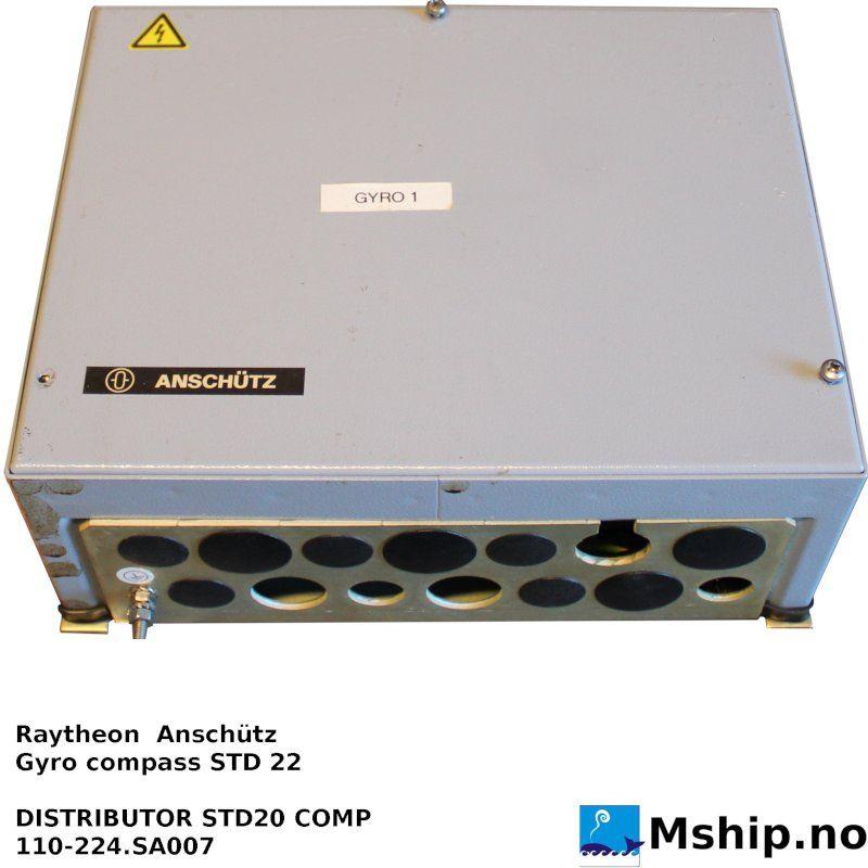 Raytheon Anschütz Gyro compass STD 22 - Mship