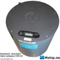 Raytheon Anschütz Gyro compass STD 22 https://mship.no