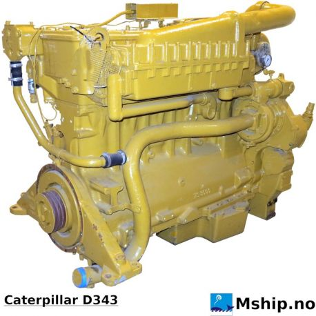 Caterpillar D343 https://mship.no