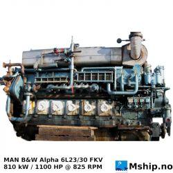 MAN B&W Alpha 6L23/30 FKV hrrps://mship.no