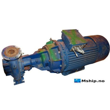 Centrifugal pump PGSpeck 100/250 DB_A4 PG flowsolutions. http://mship.no