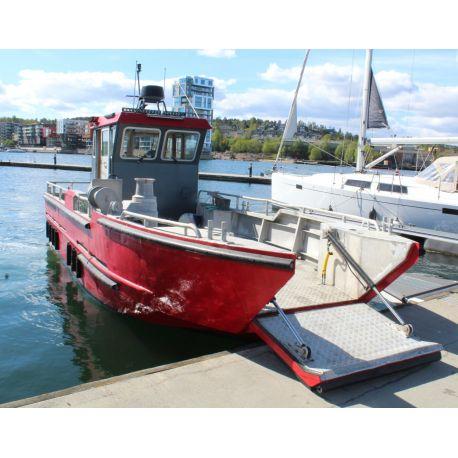 Prowork 880 Aluminium work boat https://mship.no