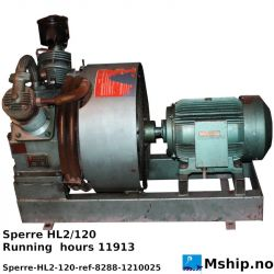 Sperre HL2/120 Start air compressor