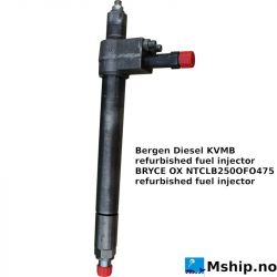 Bergen Diesel KVMB refurbished fuel injector https://mship.no