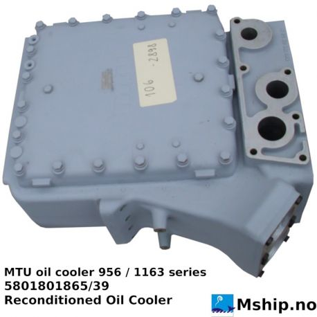 MTU 5801801865/39 oil cooler 956/1163 series https://mship.no