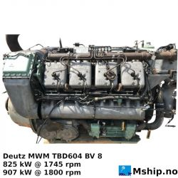Deutz MWM TBD604 BV 8 https://mship.no