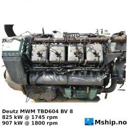 Deutz MWM TBD604 BV 8 V8
